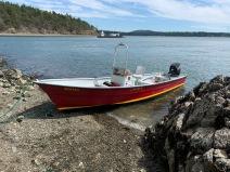 Shore boat...